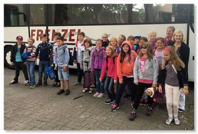 Foto zur Meldung: Klasse 4b im Schullandheim
