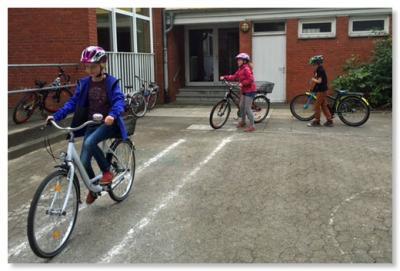 Foto zur Meldung: Fahrradführerschein