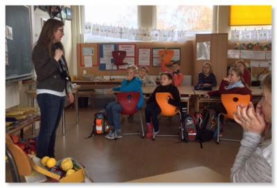 Foto zur Meldung: Klasse 2000