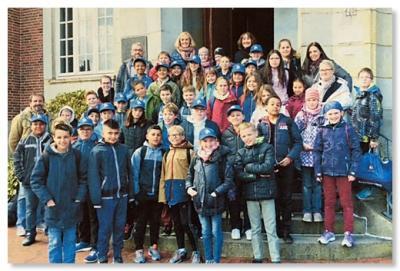 Foto zur Meldung: Unsere französischen Freunde waren zu Besuch