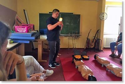 Foto zur Meldung: Erste Hilfe-Schulung