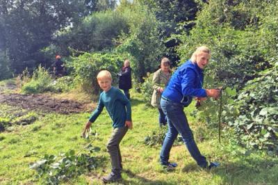 Foto zur Meldung: Garten Aktionstag