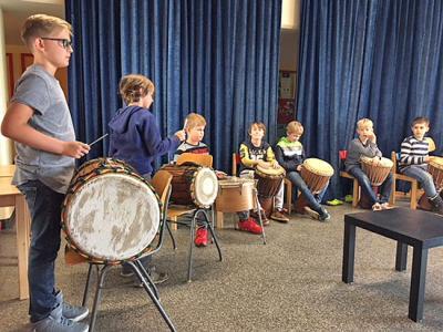 Foto zur Meldung: Musikalischer Projekttag