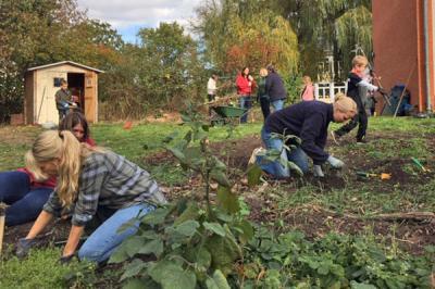 Foto zur Meldung: Garten-Aktionstag