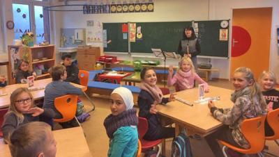 Foto zur Meldung: Instrumententag an der Grundschule Ihlpohl