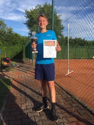 U16-Sieger Ben Schlegll