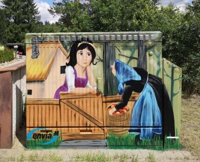 Bild der Meldung: Graffiti-Projekt in Haida