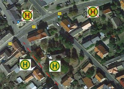 Bild der Meldung: Verlegung der Bushaltestellen Am Markt in Prösen