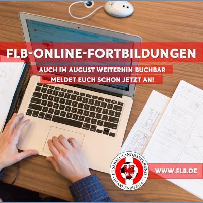 Vorschaubild zur Meldung: Online-Fortbildungen auch im August
