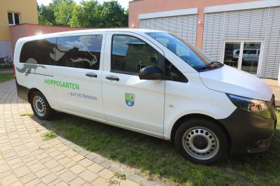 Bild der Meldung: Der Gemeindebus Hoppegarten steht bereit!