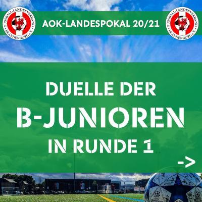 Vorschaubild zur Meldung: B-Junioren-Landespokal 20/21 ausgelost