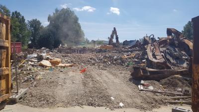 Vorschaubild zur Meldung: Ehemalige BAV (Bauarbeiterversorgung) wird abgerissen