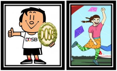 Sportabzeichentag und Drachenfest
