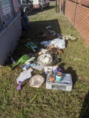 Foto zu Meldung: Illegal Müll in Grünabfall-Containern entsorgt