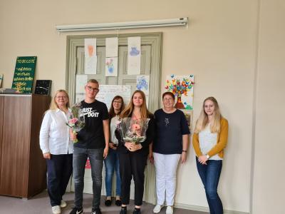 Vorschaubild zur Meldung: Neue Auszubildende für die Kyritzer Stadtverwaltung
