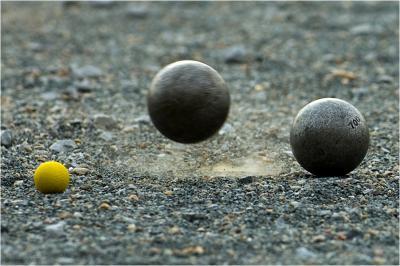 Bild der Meldung: Die Kugeln rollen wieder am Boulodrome