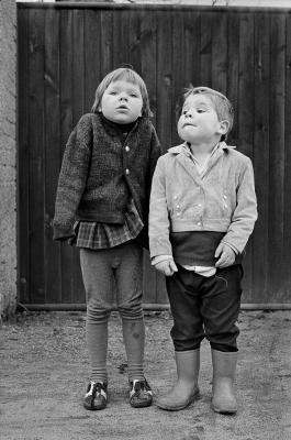 Thomas Kläber, Geschwister, Beyern 1979, Foto: Thomas Kläber