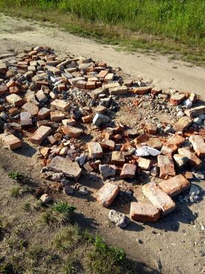 Foto zur Meldung: Illegale Abfallentsorgung in Gruhno