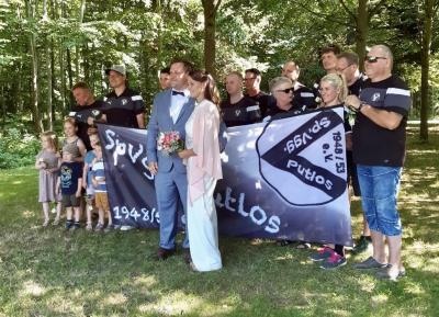 Hochzeit Sportskamerad Huthsfeldt
