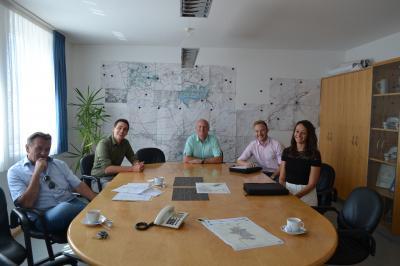 Foto zur Meldung: Staatliches Bauamt zu Besuch