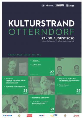 Plakat Kulturstrand Otterndorf