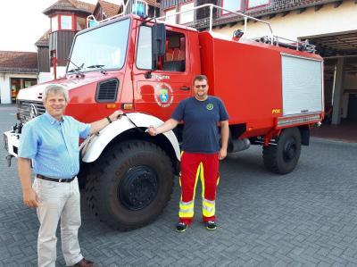 Foto zu Meldung: Tanklöschfahrzeug der Ortsfeuerwehr Lehnin ist für die nächsten Jahre gerüstet