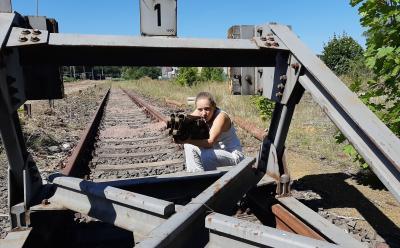 Vorschaubild zur Meldung: KOMME BALD! Eisenbahntheater über Kriegsheimkehrer direkt am Bahnhof zu Gast in Fürstenwalde