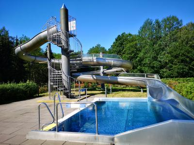 Die Telefonstörung im Schwimmbad ist behoben. Foto: Beate Vogel