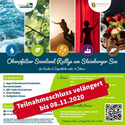 Vorschaubild zur Meldung: Oberpfälzer Seenland-Rallye des Kreisjugendrings Schwandorf