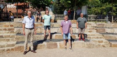 Gemeinde Willingshausen Übergabe Mehrgenerationenplatz