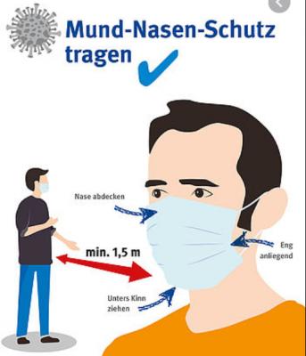Bild der Meldung: Mund-Nasen-Schutz