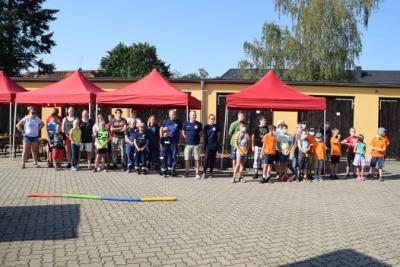 Vorschaubild zur Meldung: Willkommensfest der Jugendfeuerwehren der Stadt Perleberg