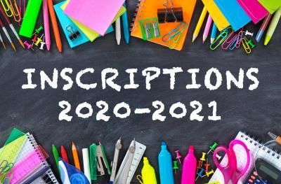 Modalités d'inscription - Rentrée scolaire 2021