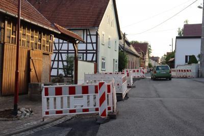 Elektroversorgung in Scherbda