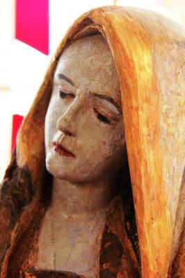 Kopf der Körrenziger Pieta