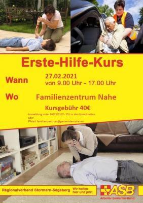 Vorschaubild zur Meldung: Erste-Hilfe-Kurs