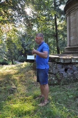 Foto zur Meldung: Radek Fridrich setzt sich für die Denkmalerhaltung ein