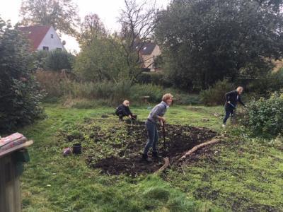 Foto zur Meldung: Gartenaktionstag