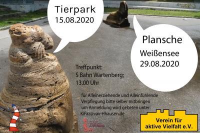 Flyer mit Infos zum Ausflug