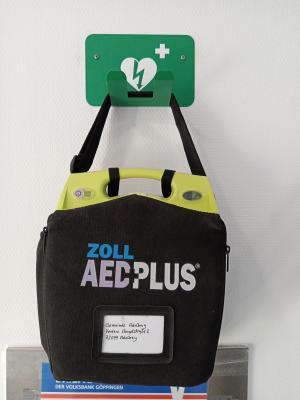Vorschaubild zur Meldung: Neuer Standort für den Adelberger Defibrillator