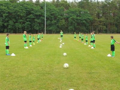 Vorschaubild zur Meldung: Herbstfußballcamp in Niemegk