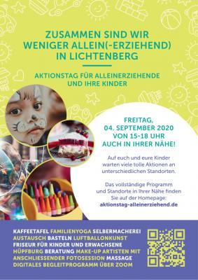 Vorschaubild zur Meldung: Aktionstag für Alleinerziehende am 4. September