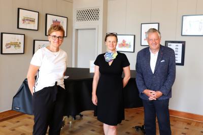 Constanze Stehr, Imke Stotz und Andreas Hahn (v.li.) Foto: Martin Ferch