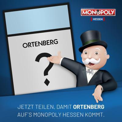 Foto zur Meldung: Hessen-Monopoly: Wer möchte, dass auch Ortenberg vertreten ist?