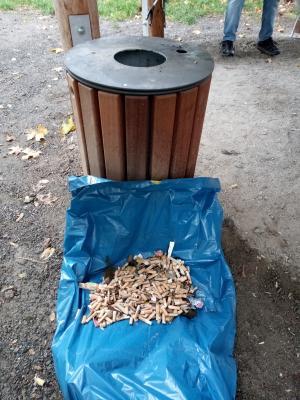 Müllsammlung