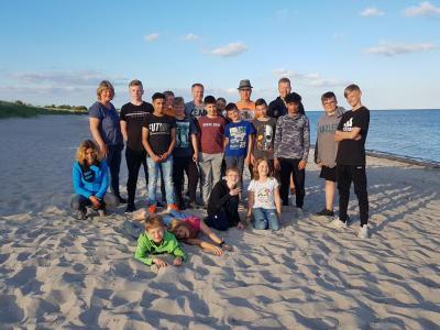 Bild der Meldung: Tischtennis-Jugend campte an der Ostsee
