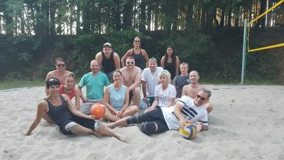 Vorschaubild zur Meldung: Aktive Volleyballer