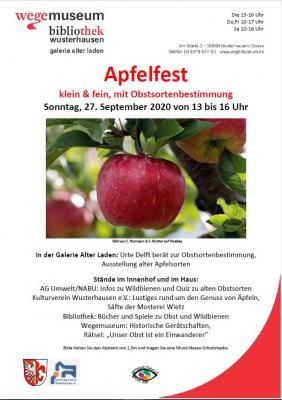 Foto zur Meldung: Apfelfest im Haus Am Markt 3 am  27.9. von 13-16 Uhr