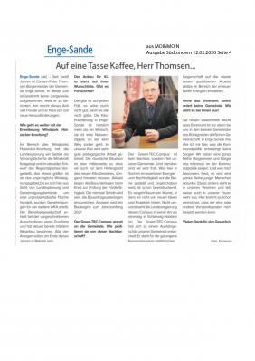 Vorschaubild zur Meldung: Auf eine Tasse Kaffee, Herr Thomsen (aus MoinMoin)