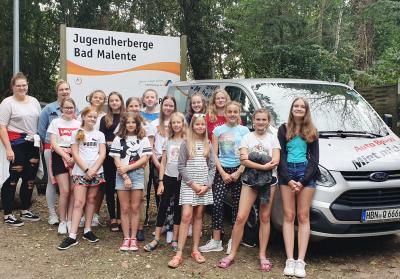 Foto zur Meldung: 2. Sommer – Ferien  - Trainingslager  in  Bad Malente / Holstein